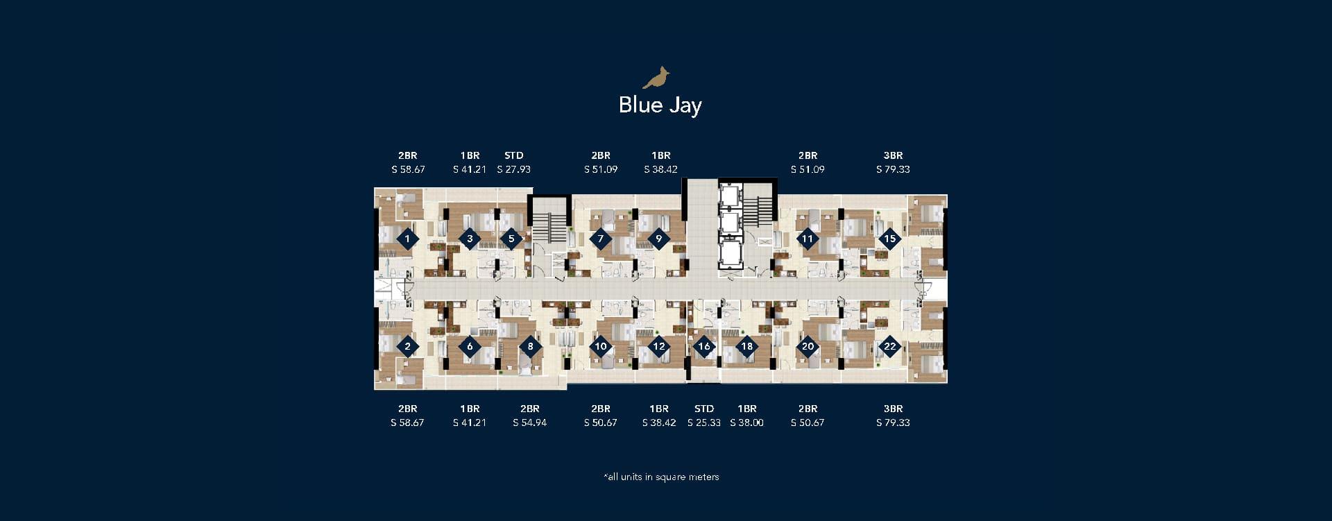 Site-Plan-Tower-Blue-Jay-Daan-Mogot-City