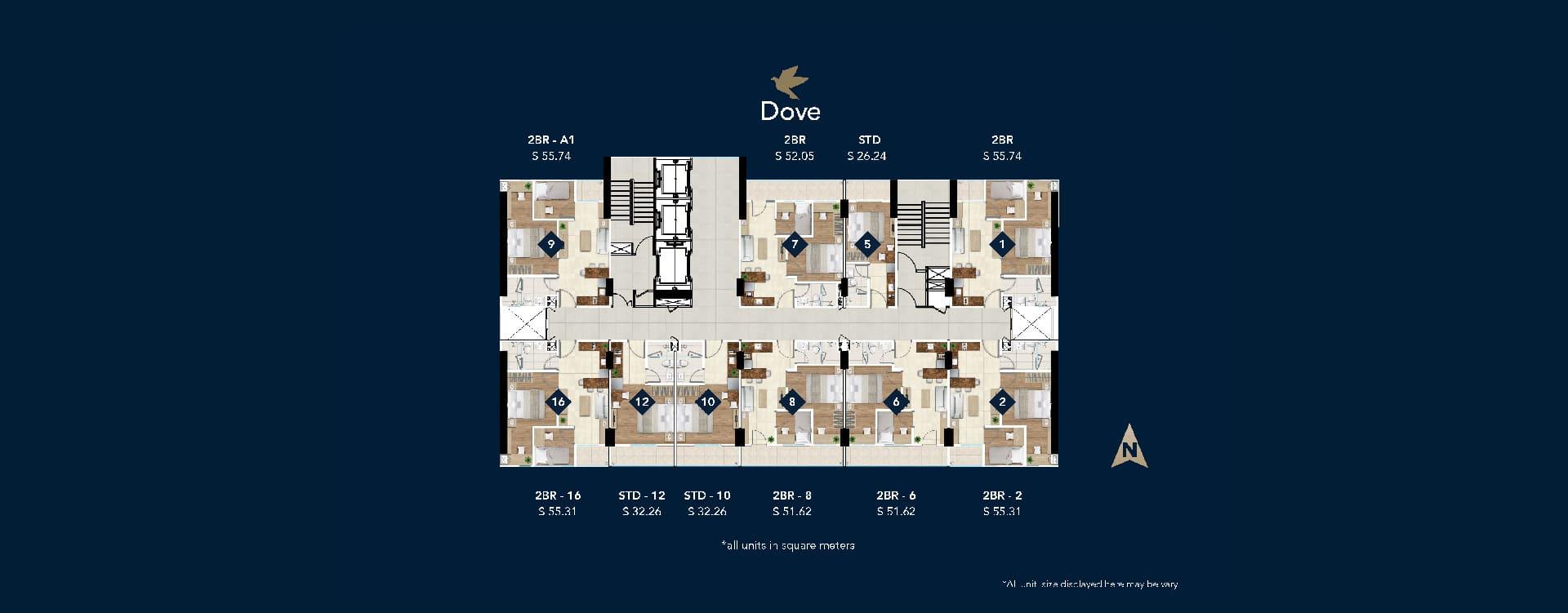 Site-Plan-Tower-Dove-Daan-Mogot-City
